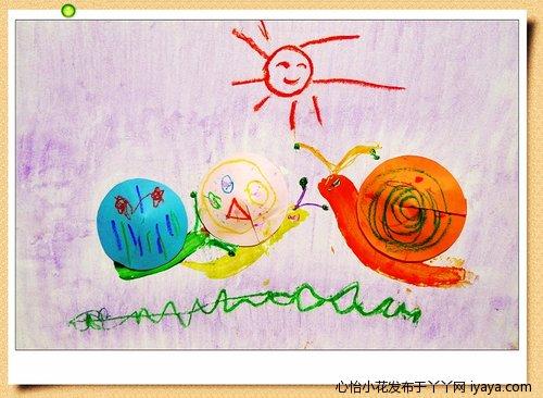 海绵纸手工制作小花; 【创意嘟嘟】10:小蜗牛;